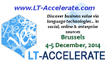 LT-Accelerate, 4-5 december 2014 Brussel